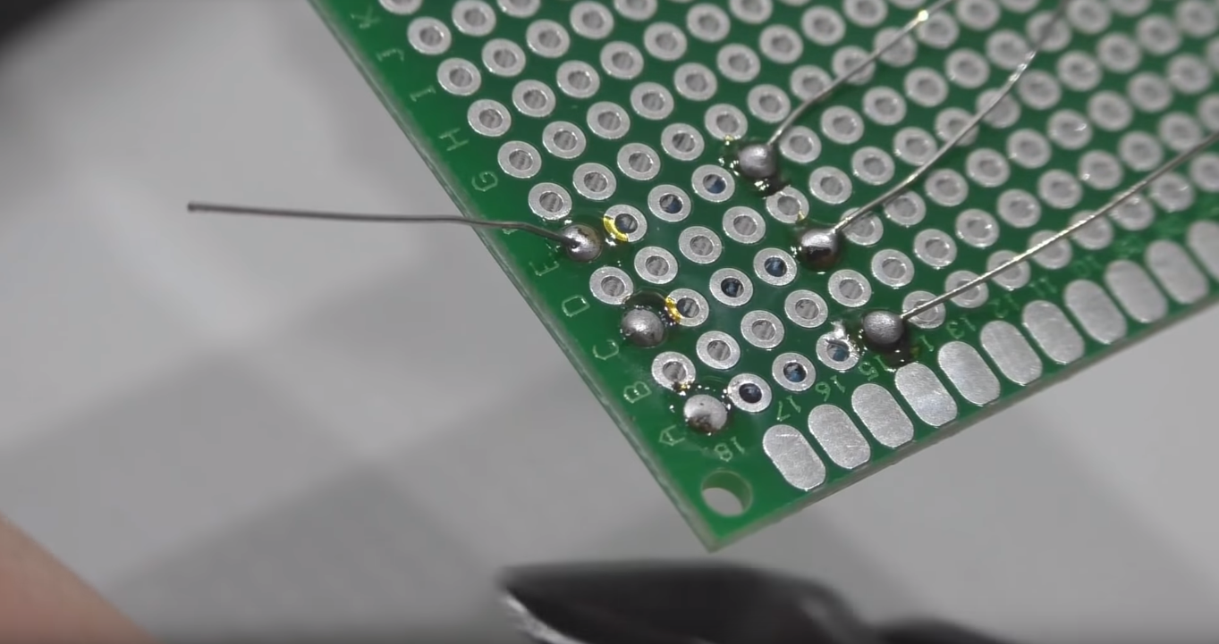 Solder for circuit