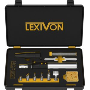 LEXIVON Butane Soldering Iron Multi-Purpose Kit