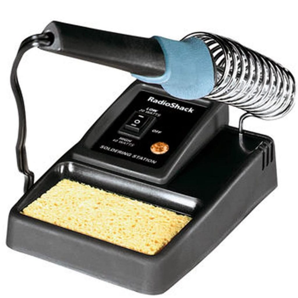 RadioShack Dual-Power Soldering Iron Work Station