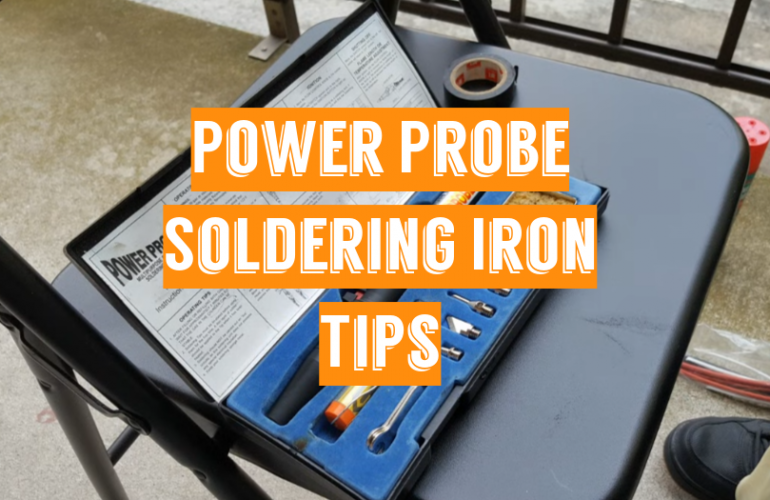 5 Power Probe Soldering Iron Tips