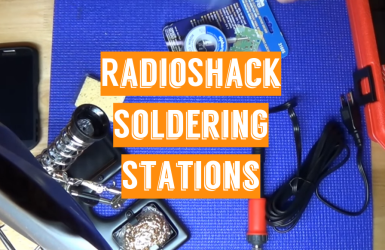 5 RadioShack Soldering Stations