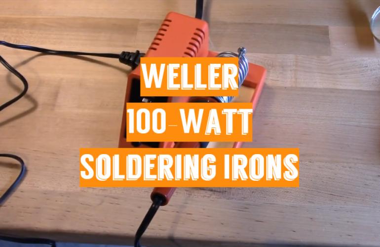 5 Weller 100-Watt Soldering Irons