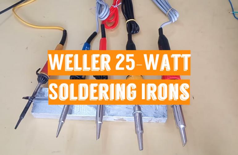5 Weller 25-Watt Soldering Irons