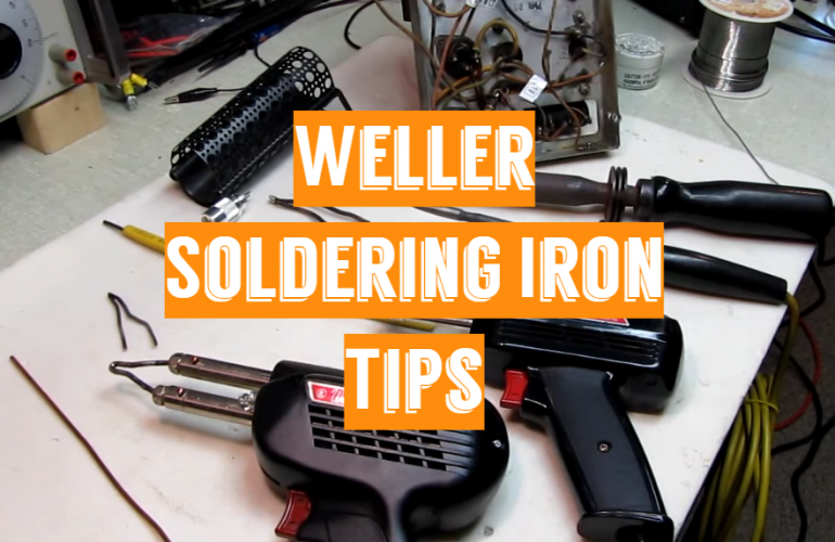 5 Weller Soldering Iron Tips