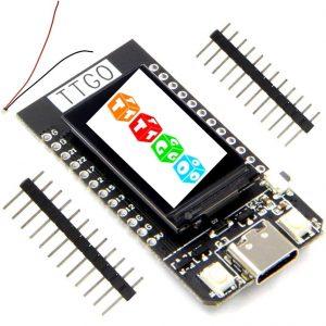 ICQUANZX T-Display ESP32 WiFi and Bluetooth Module