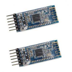 KOOBOOK 2Pcs AT-09 Bluetooth 4.0 Transceiver BLE Module Serial Port