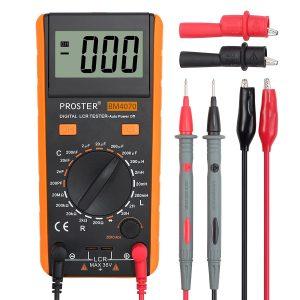 Proster LCR Meter LCR Multimeter Tester