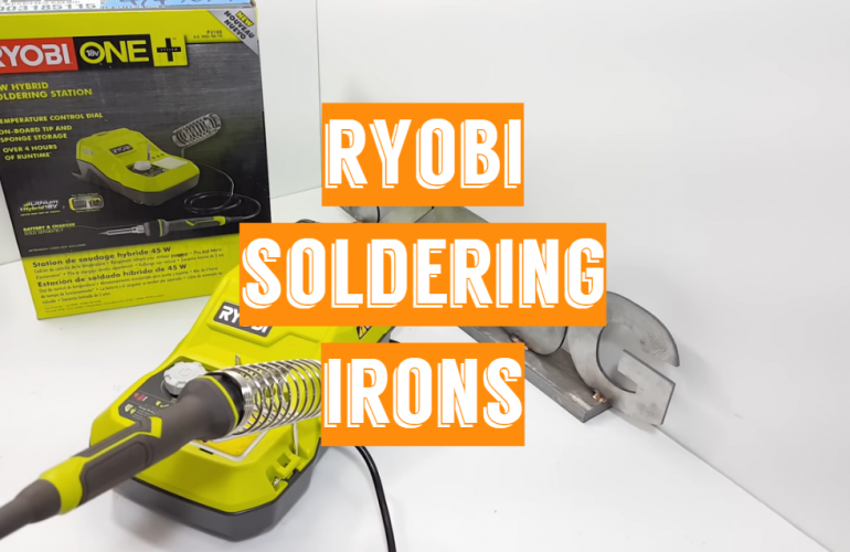 5 Ryobi Soldering Irons