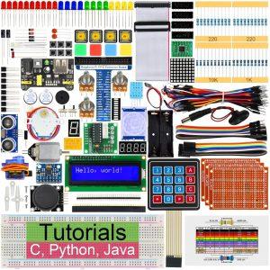 Freenove Ultimate Starter Kit for Raspberry Pi 4 B 3 B+ 400