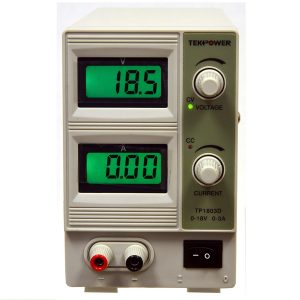 Tekpower TP1803D Lab Grade Variable Linear DC Power Supply 0-18V