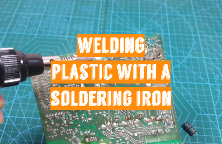 Welding Plastic with a Soldering Iron