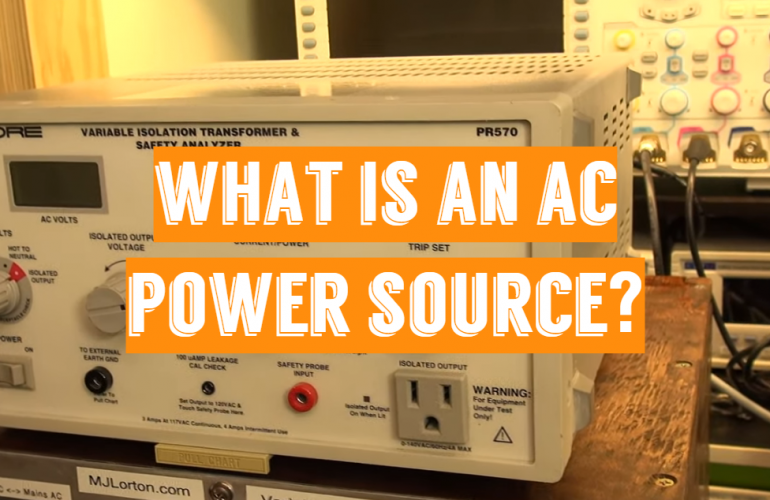 What is an AC Power Source?