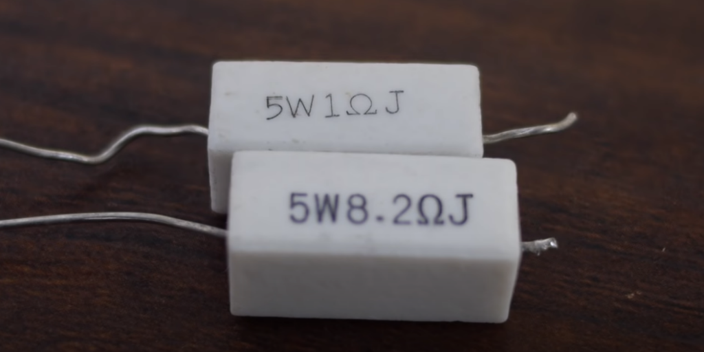 Resistors come in a variety of shapes and sizes